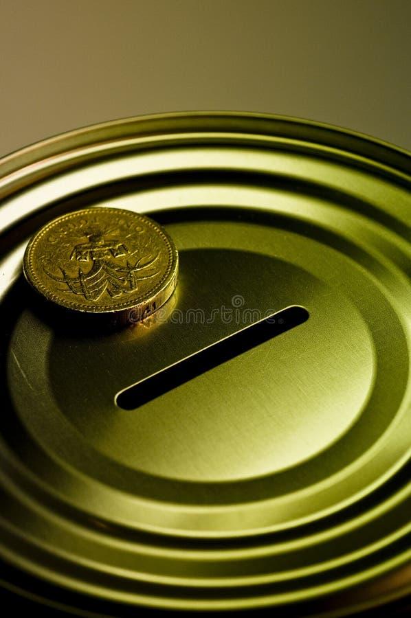 配件箱货币 库存照片