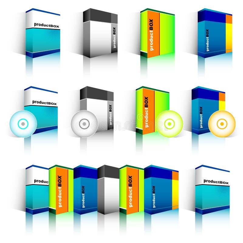 配件箱软件 皇族释放例证