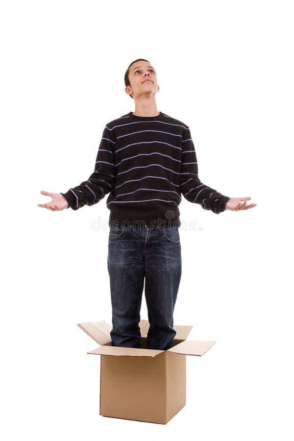 配件箱里面祈祷 图库摄影