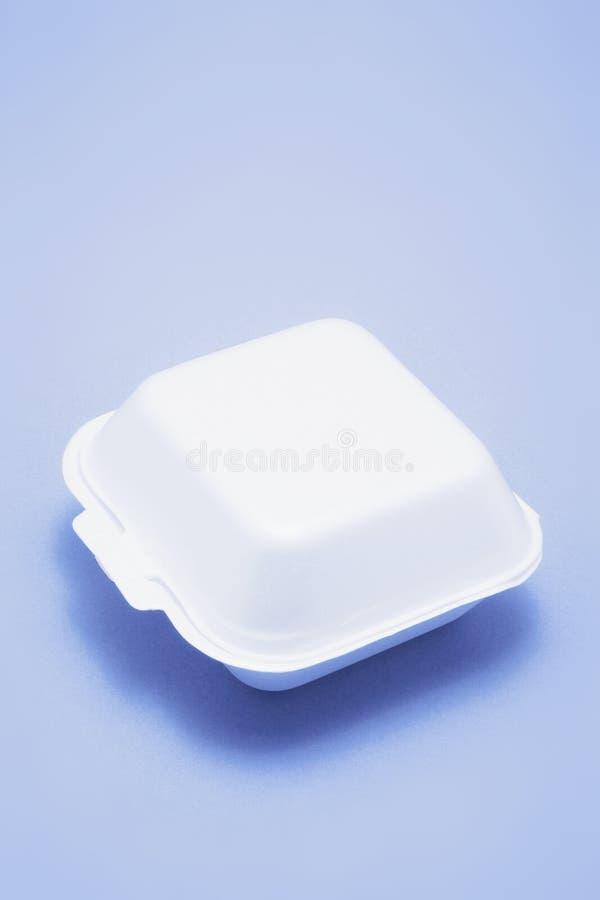 配件箱食物多苯乙烯 免版税库存照片