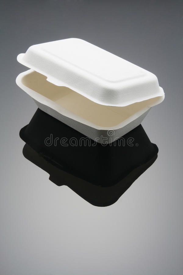 配件箱食物 库存图片