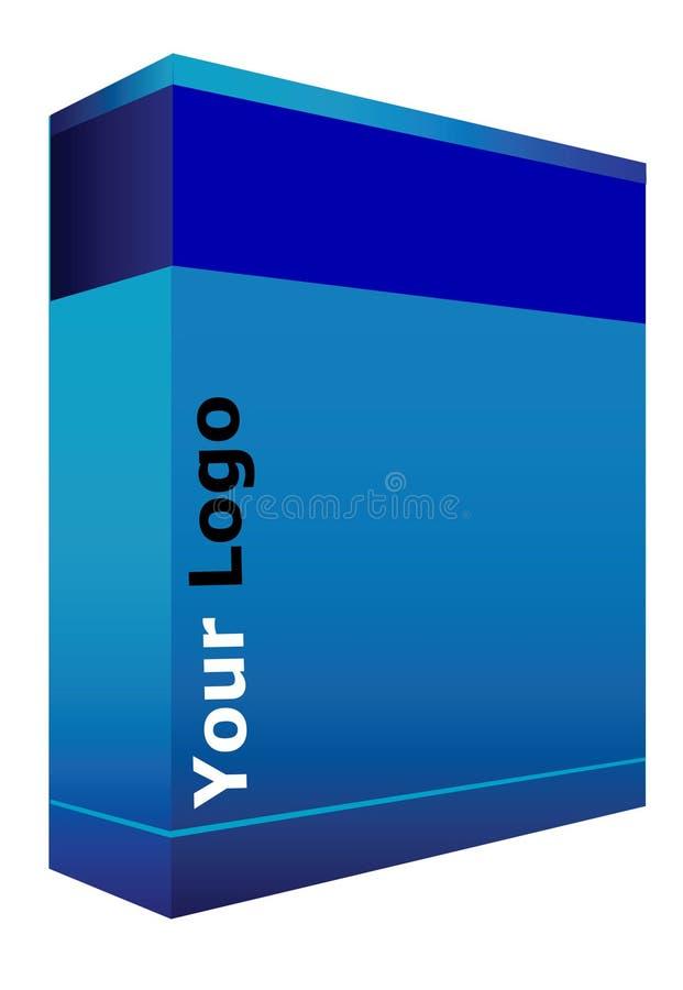 配件箱cd 库存例证