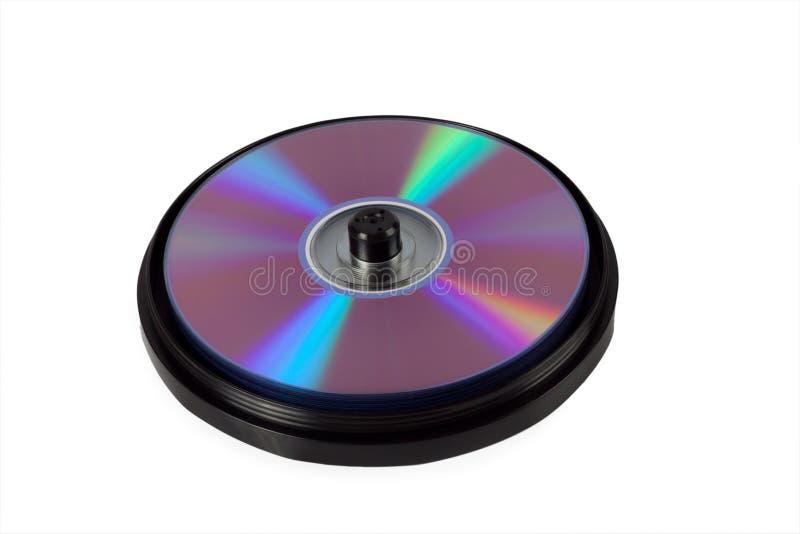 配件箱cds 免版税库存图片
