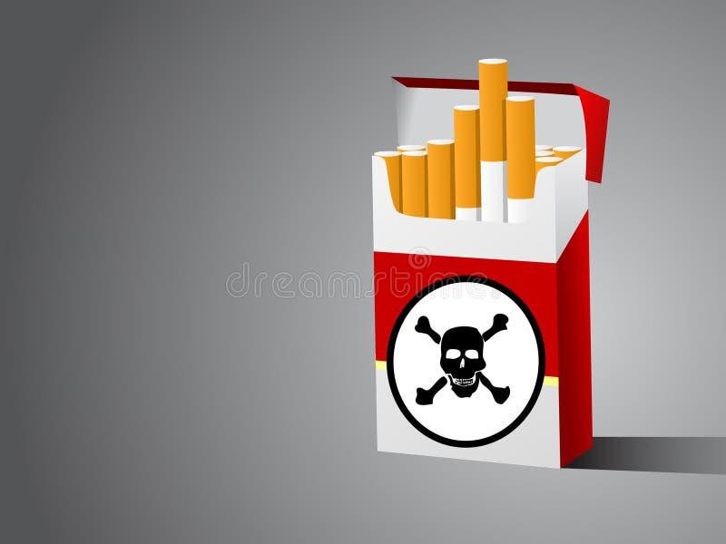 配件箱cugarette 皇族释放例证