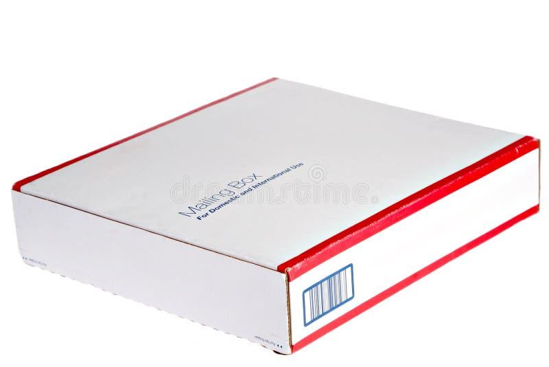 配件箱emplty邮寄 免版税库存照片
