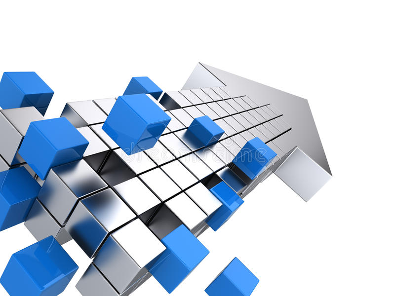 配合企业概念 向量例证