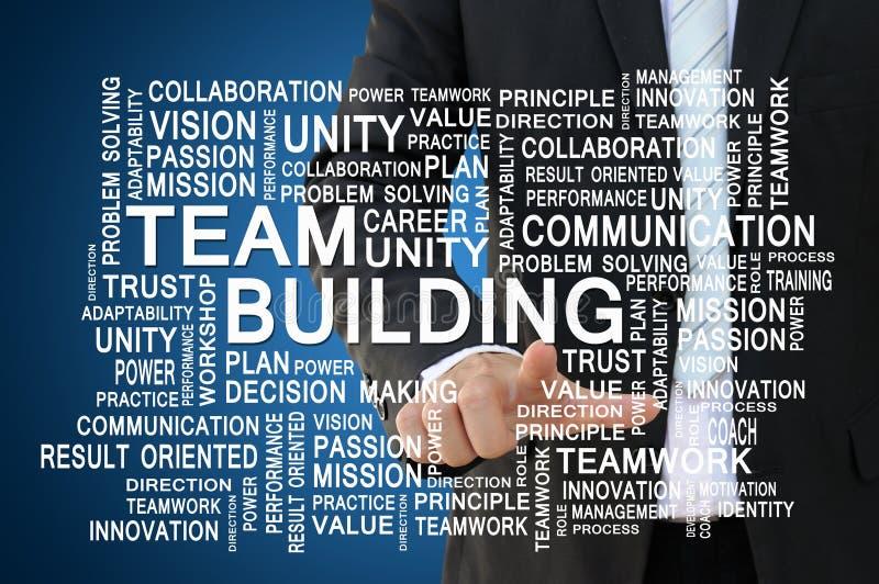 配合和对组织工作概念 库存照片