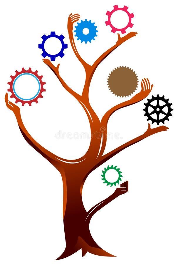 配合树 库存例证