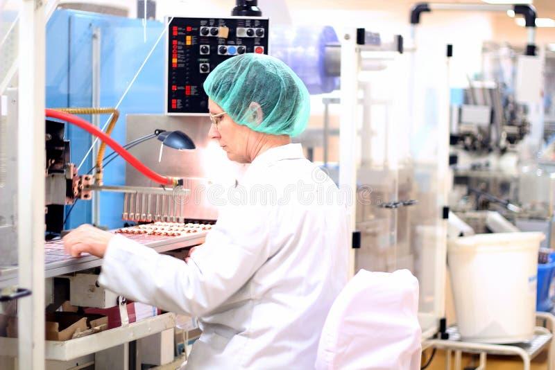 配药的工厂 免版税库存图片