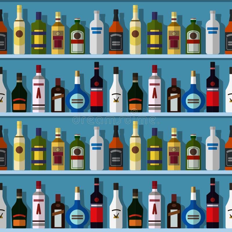 酒吧无缝的背景 免版税库存照片
