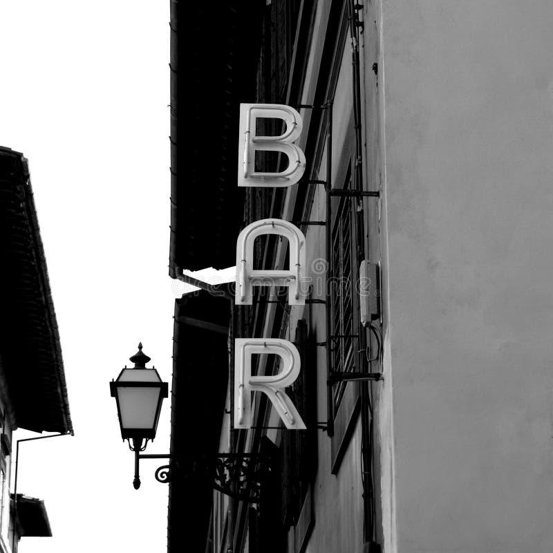 酒吧概念 免版税库存图片