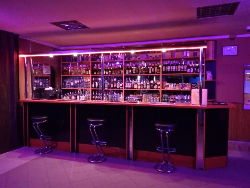 酒吧驻地 免版税库存照片