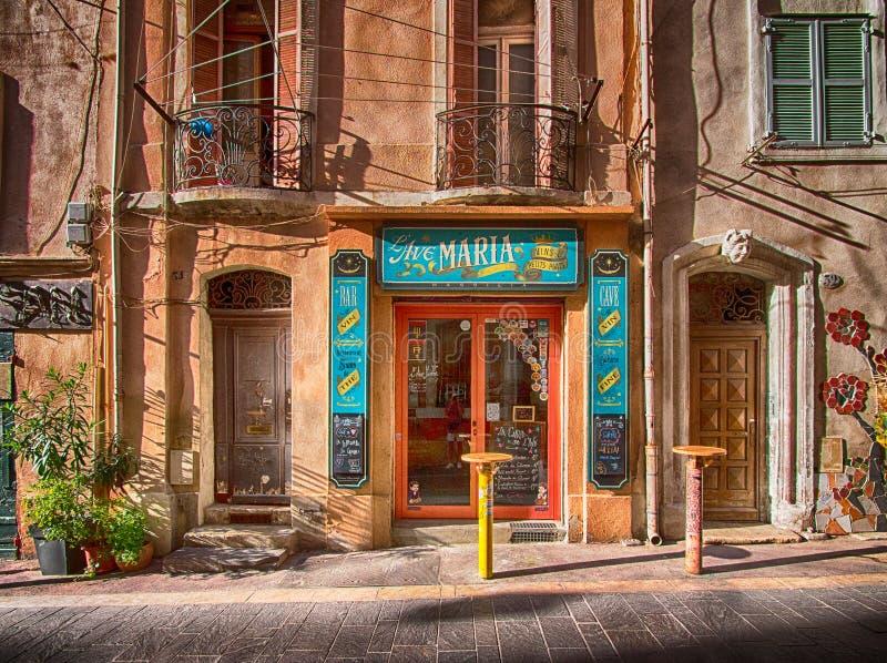 酒店在普罗旺斯,法国 库存图片
