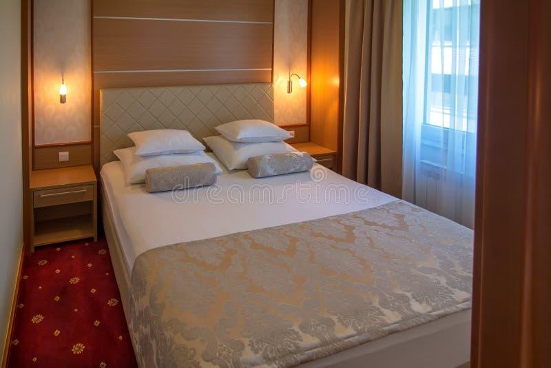 酒店房间的内部 库存图片
