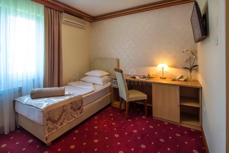 酒店房间的内部 库存照片