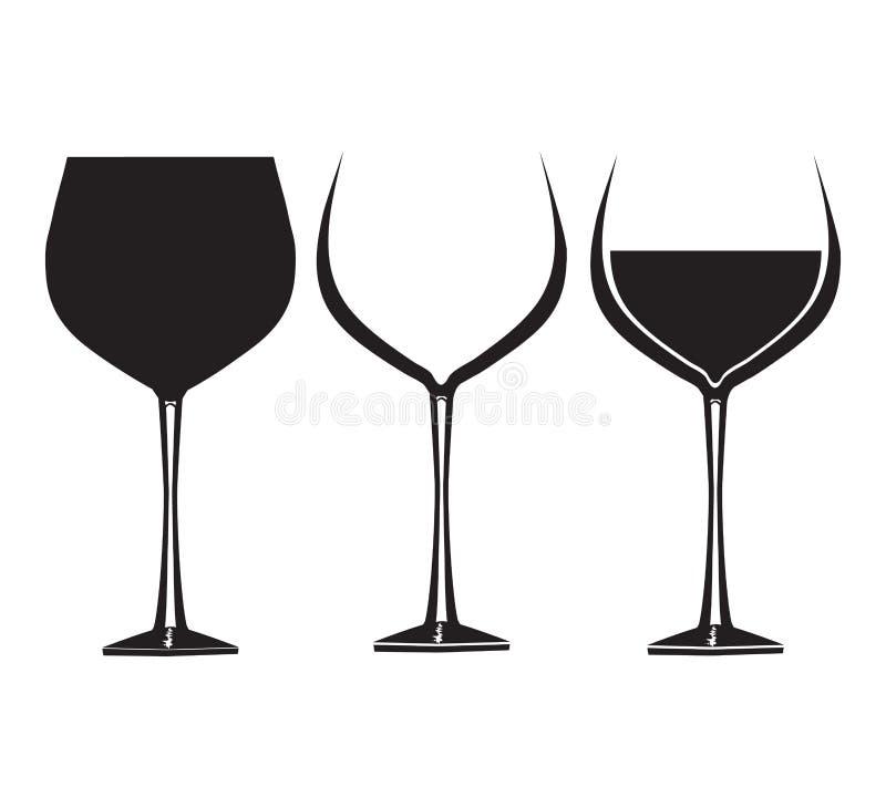 酒杯2 皇族释放例证