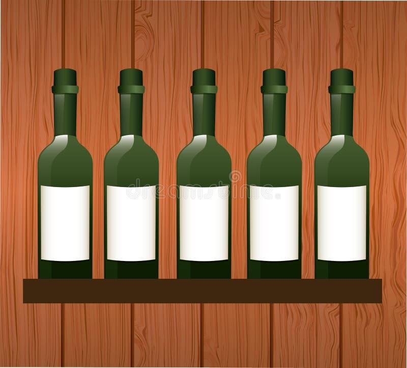 酒概念 向量例证
