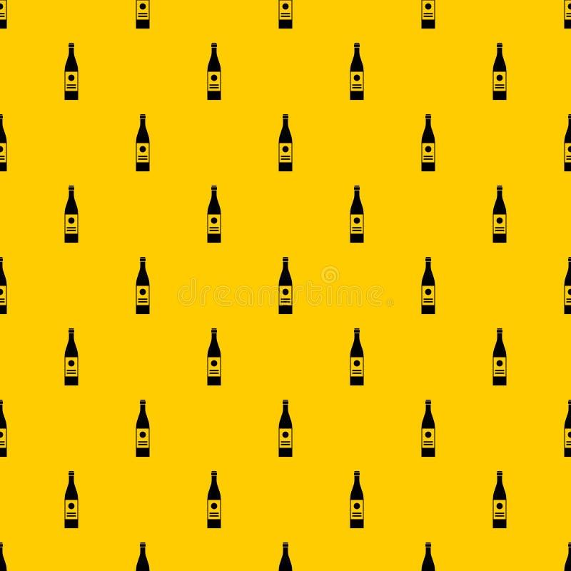 酒瓶样式传染媒介 皇族释放例证