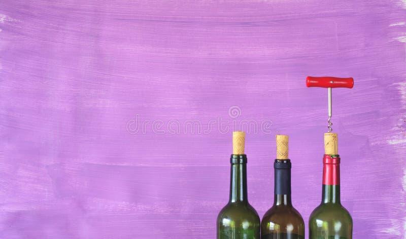 酒瓶, 免版税库存照片