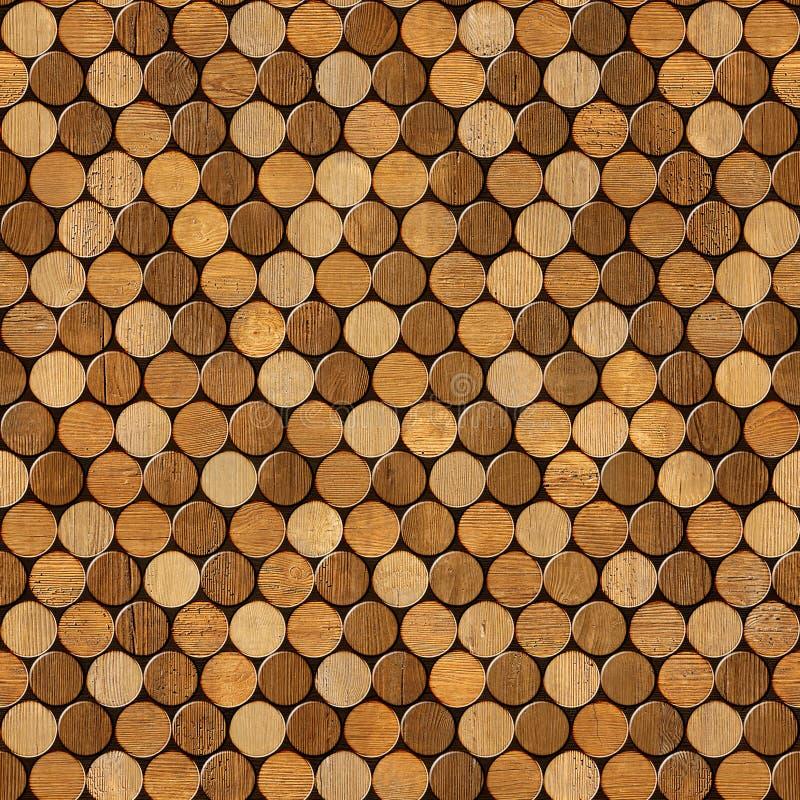 酒瓶黄柏的装饰样式-无缝的背景 图库摄影