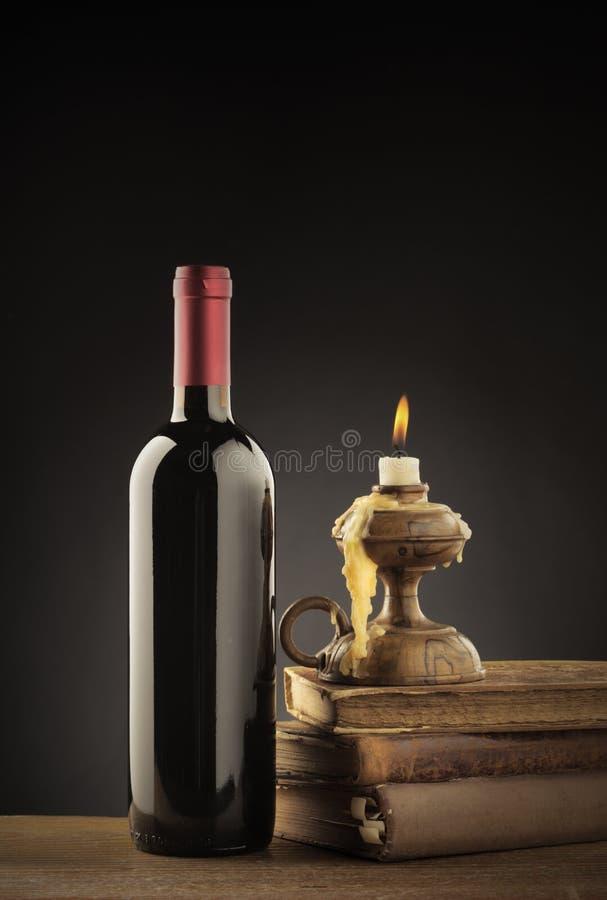 酒瓶 免版税库存照片