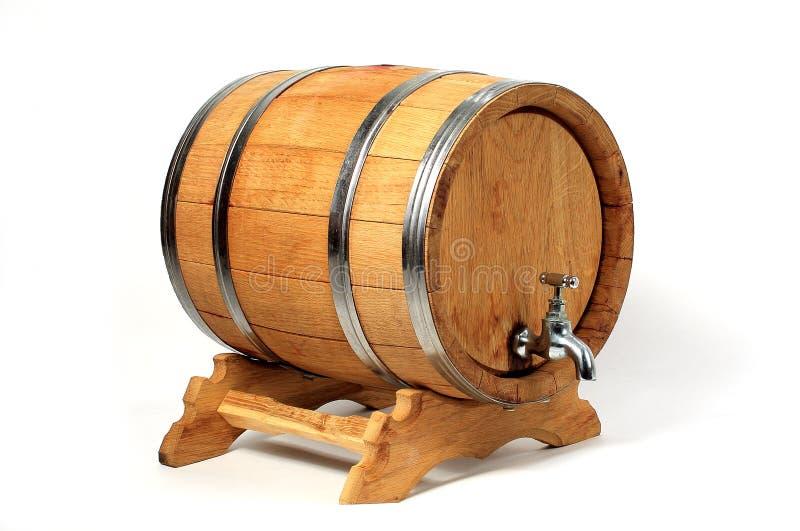 酒的桶 图库摄影