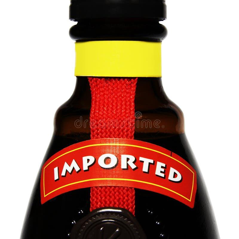 酒精导入了 免版税库存图片