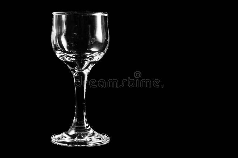 酒精饮料的玻璃容器和他们的生活的质量的恶化 库存照片