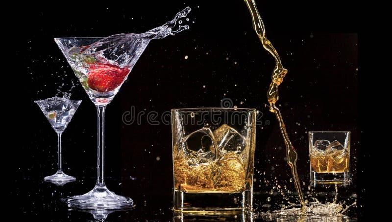 酒精饮料 免版税图库摄影