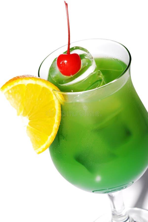 酒精鸡尾酒绿色 库存照片