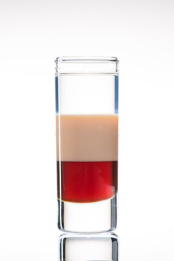酒精鸡尾酒B-52 图库摄影