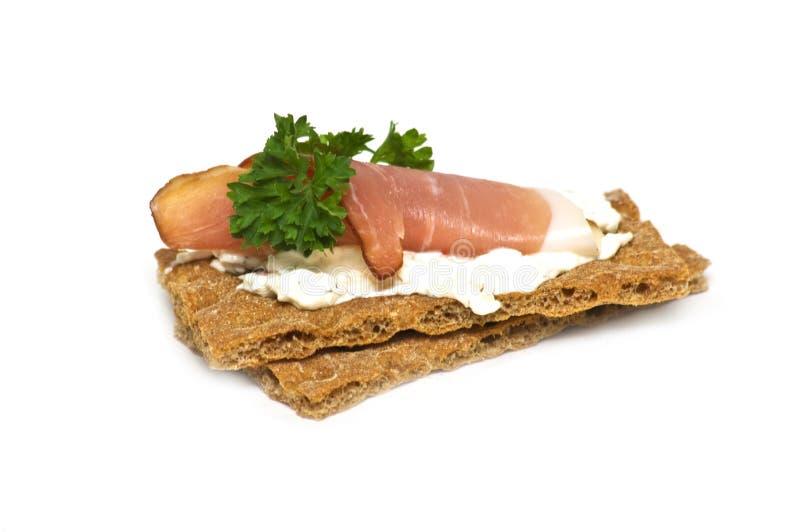 酥脆三明治 免版税库存照片