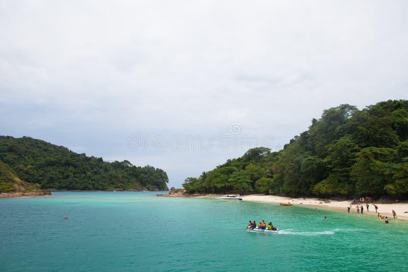 酸值张,泰国风景 免版税库存照片