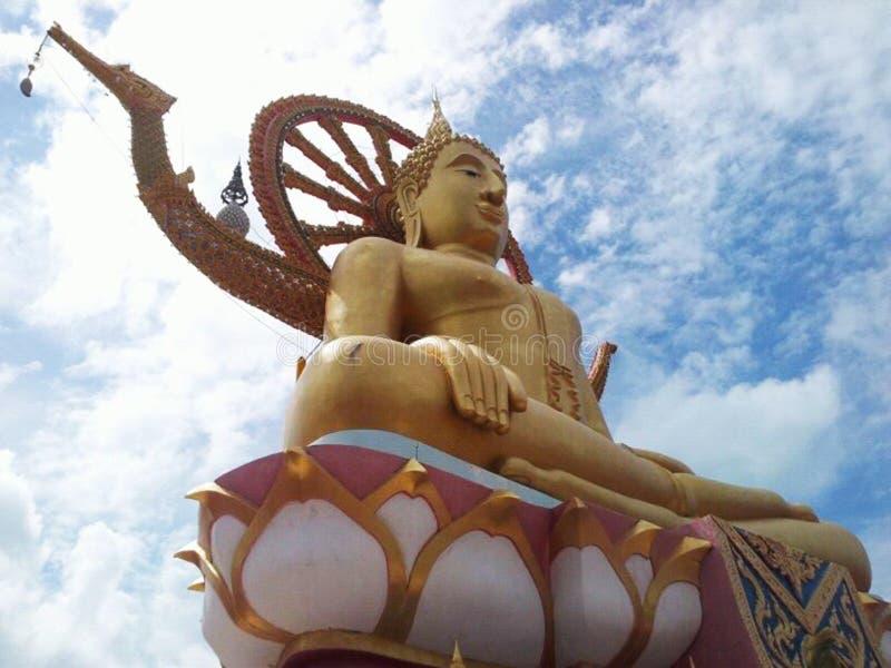 酸值的苏梅岛,泰国大菩萨 免版税库存图片