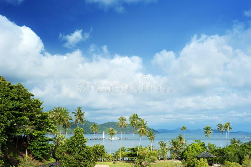 酸值Chang海岛 库存照片