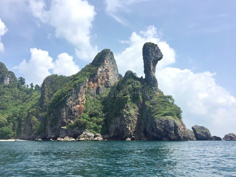 酸值kai海岛 Krabi泰国 免版税库存照片