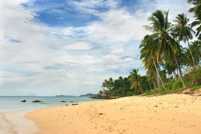 酸值Lanta海滩,泰国 免版税库存图片