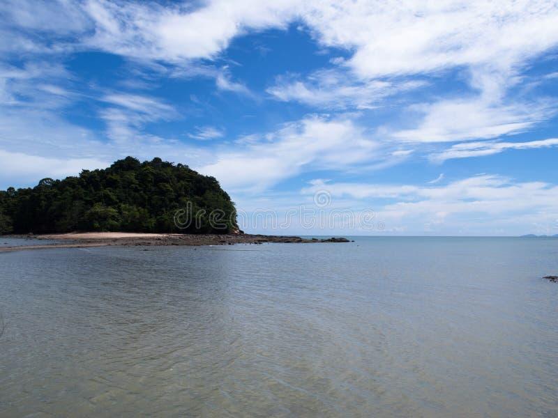 酸值Lanta海滩,泰国 库存图片