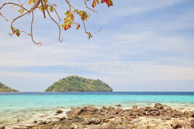 酸值Lipe海岛 免版税库存图片