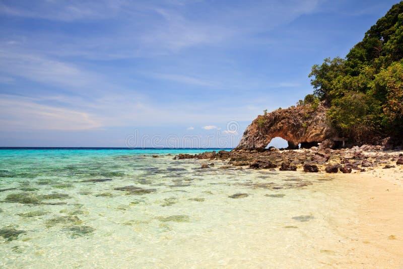 酸值Lipe海岛 免版税库存照片