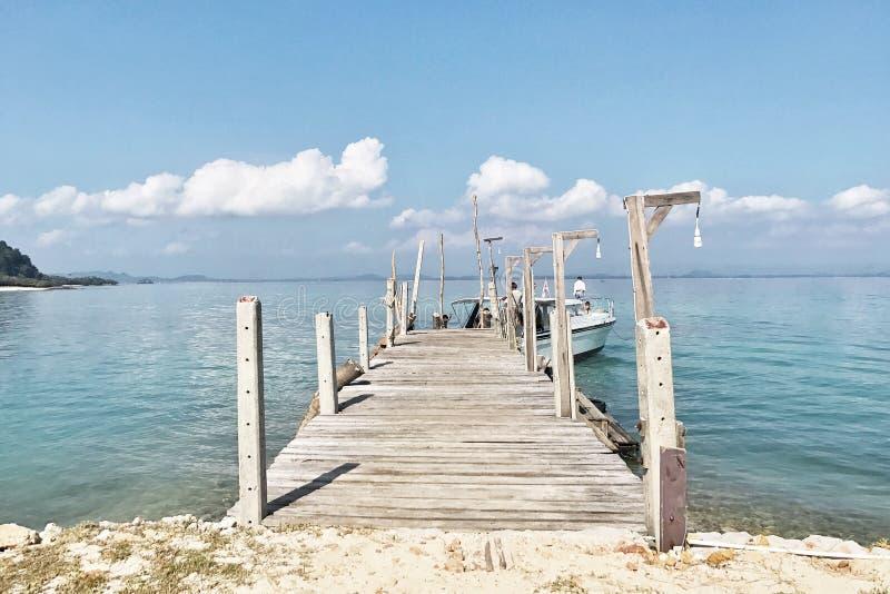 酸值talu海岛-泰国 免版税图库摄影