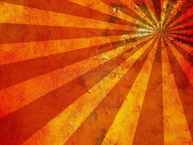 酸背景grunge红色 图库摄影