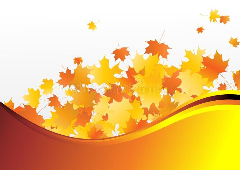 醇厚的秋天 向量例证