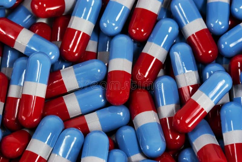 醋胺酚压缩通用医学 免版税图库摄影
