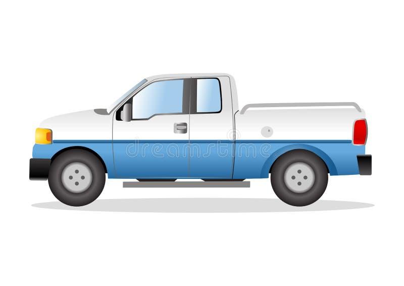 采撷的图表例证卡车的 向量例证