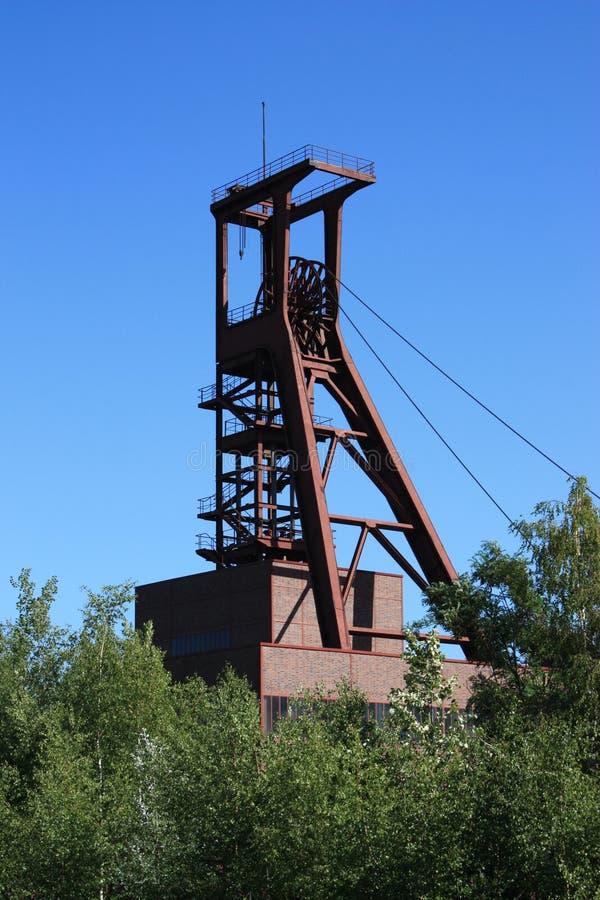 采煤停止的行业最小值 免版税库存图片