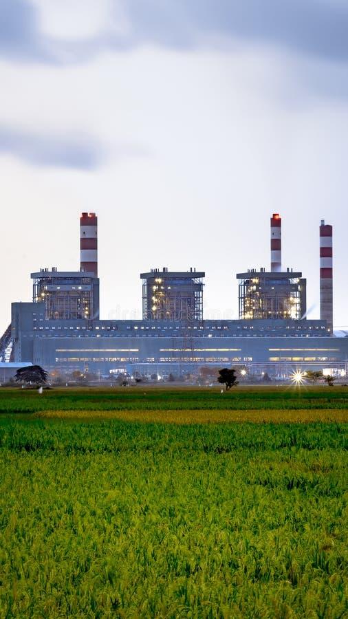 采煤被射击的工厂次幂 免版税库存照片