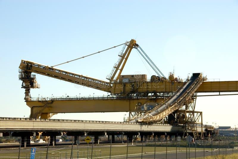 采煤装入程序 免版税图库摄影