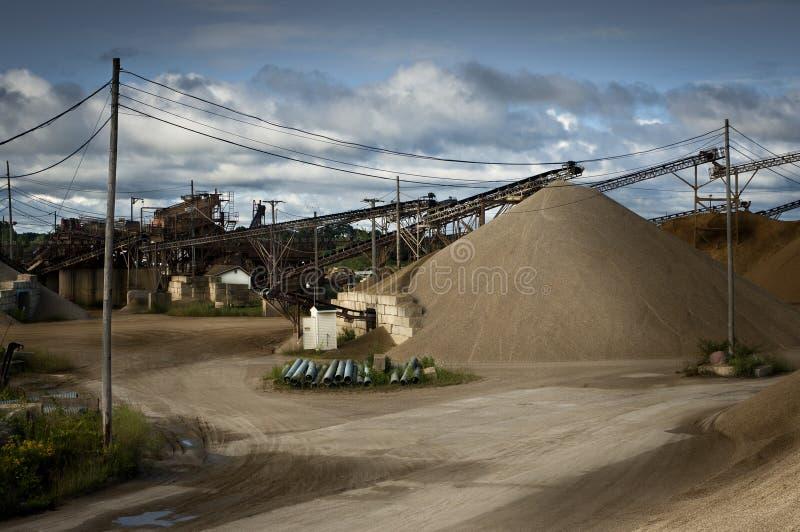 采石坑 免版税库存照片