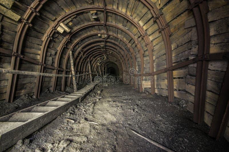 采矿和化学制品企业Polimineral在Stebnyk,乌克兰 免版税图库摄影